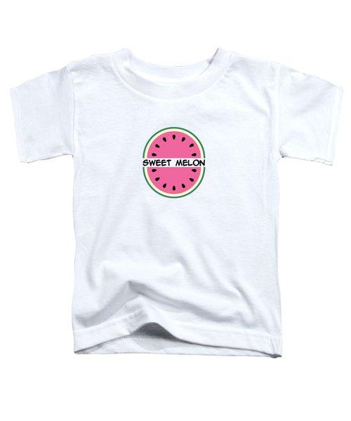 Watermelon Pattern Toddler T-Shirt by Alina Krysko