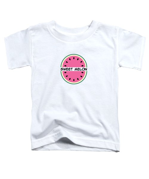 Watermelon Pattern Toddler T-Shirt