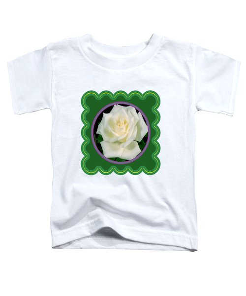 White Rose Flower Floral Posters Photography And Graphic Fusion Art Navinjoshi Fineartamerica Pixels Toddler T-Shirt
