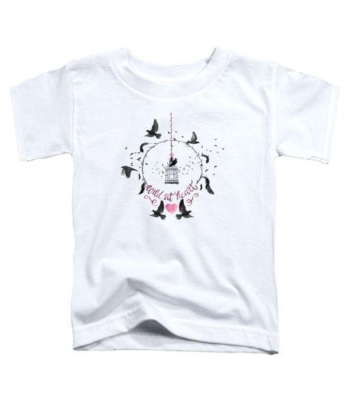 Wild At Heart Toddler T-Shirt
