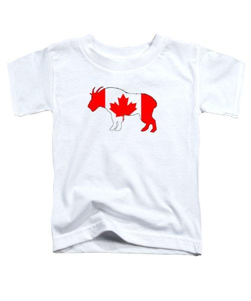 Wild Goat Toddler T-Shirt by Mordax Furittus