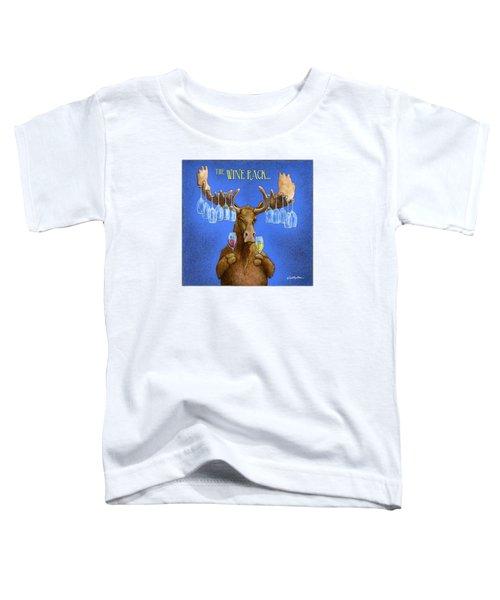 Wine Rack... Toddler T-Shirt