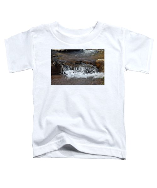 Waterfall Westcliffe Co Toddler T-Shirt