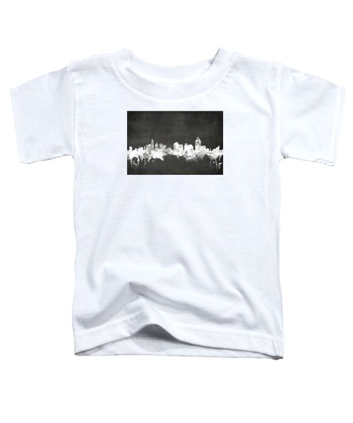Cincinnati Ohio Skyline Toddler T-Shirt