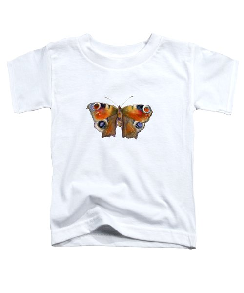10 Peacock Butterfly Toddler T-Shirt