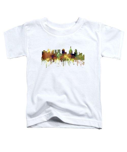 Philadelphia Pennsylvania Skyline Toddler T-Shirt