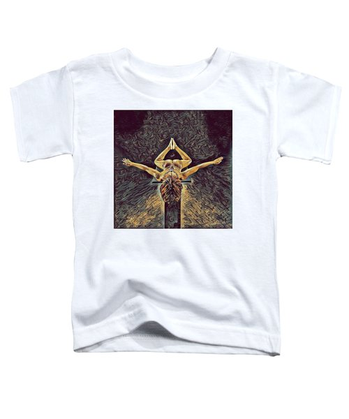 1038s-zac Dancer Flying On Pedestal Nudes In The Style Of Antonio Bravo  Toddler T-Shirt