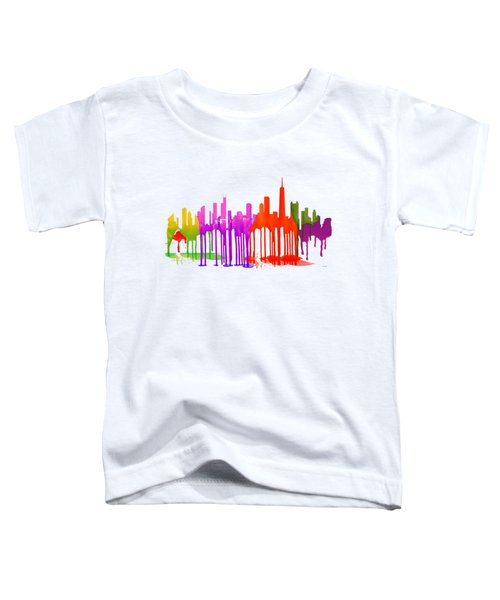 Chicago Illinois Skyline Toddler T-Shirt