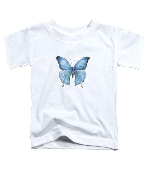 111 Blue Elijah Butterfly Toddler T-Shirt