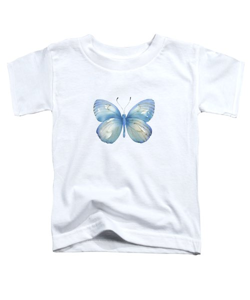 112 Blue Marcia Butterfly Toddler T-Shirt