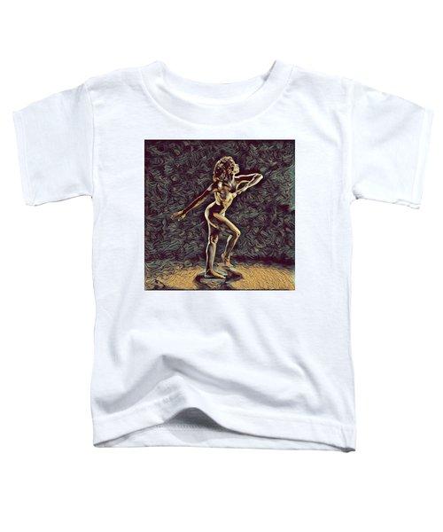 1192s-zac Nudes In The Style Of Antonio Bravo  Toddler T-Shirt