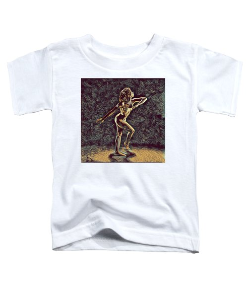 1192s-zac Nudes In The Style Of Antonio Bravo  Toddler T-Shirt