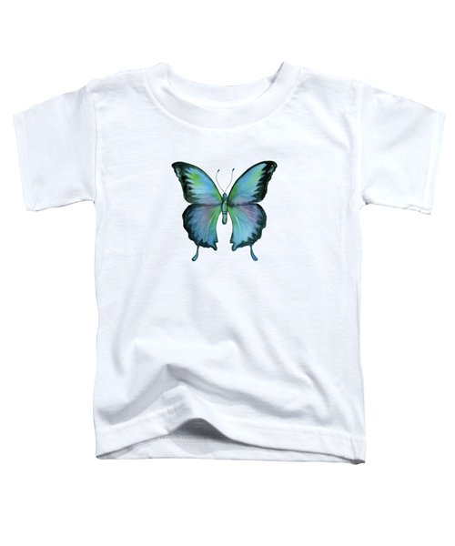 12 Blue Emperor Butterfly Toddler T-Shirt