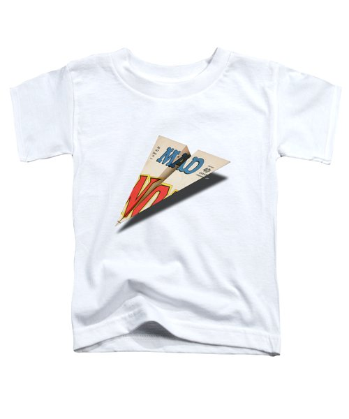147 Mad Paper Airplane Toddler T-Shirt