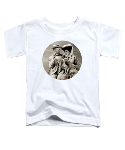 1900 Happy Young Couple Toddler T-Shirt