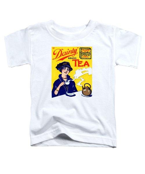 1910 Dainty Tea Toddler T-Shirt