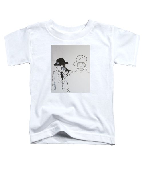 1920s Film Noir - I Think Were Being Followed Toddler T-Shirt
