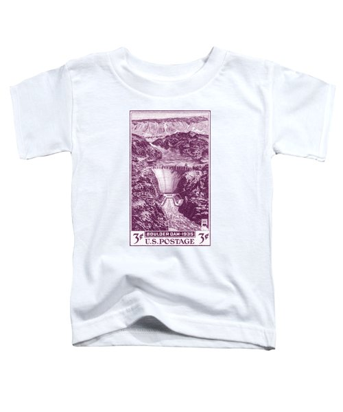 1935 Boulder Dam Stamp Toddler T-Shirt