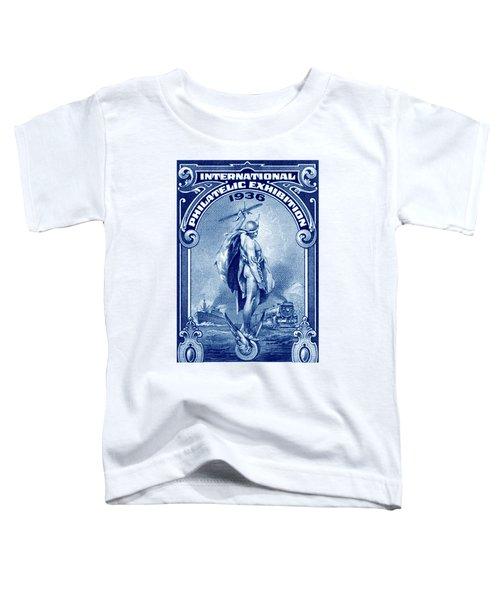 1936 New York International Philatelic Expo Toddler T-Shirt