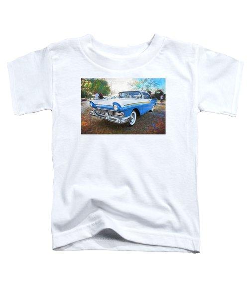 1957 Ford 2 Door Fairlane C125    Toddler T-Shirt