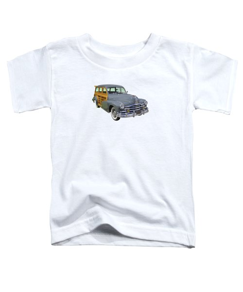 1948 Pontiac Silver Streak Woody Toddler T-Shirt