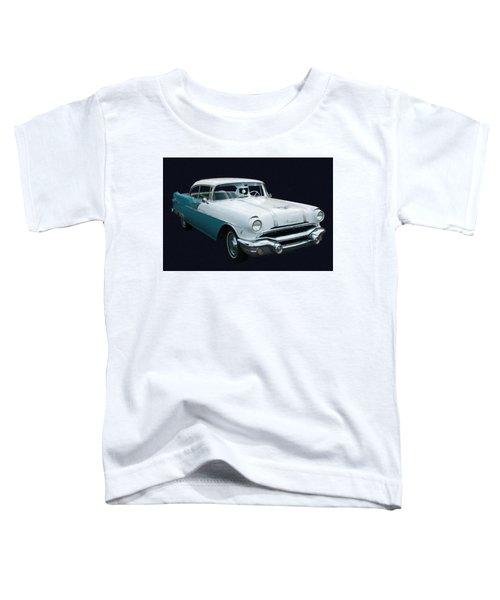 1956 Pontiac Star Chief Digital Oil Toddler T-Shirt