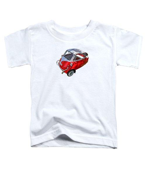 1957 Isetta 300 Top View Toddler T-Shirt