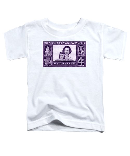 1960 The American Woman Toddler T-Shirt