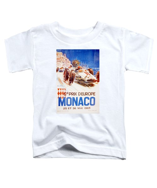 1963 F1 Monaco Grand Prix  Toddler T-Shirt
