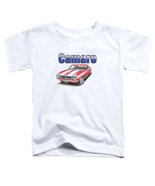 1967 Camaro Toddler T-Shirt