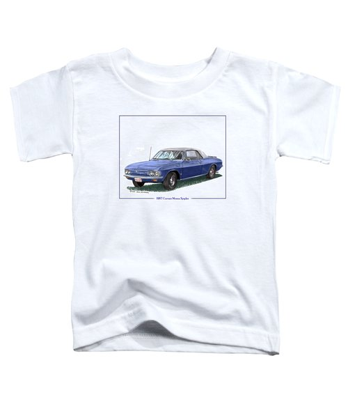 1967 Corvair Monza Spyder Toddler T-Shirt
