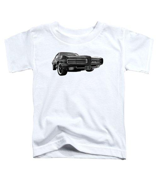 1969 Pontiac Gto The Goat Toddler T-Shirt by Gill Billington