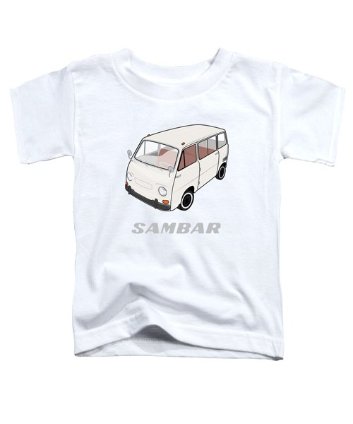 1970 Subaru Sambar Van Toddler T-Shirt