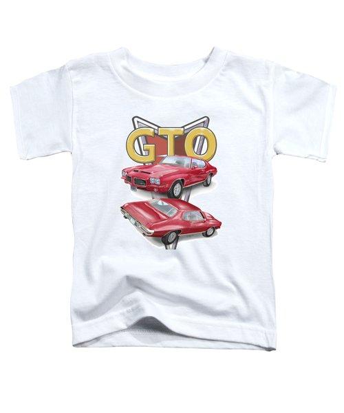 1971 Pontiac Gto Toddler T-Shirt