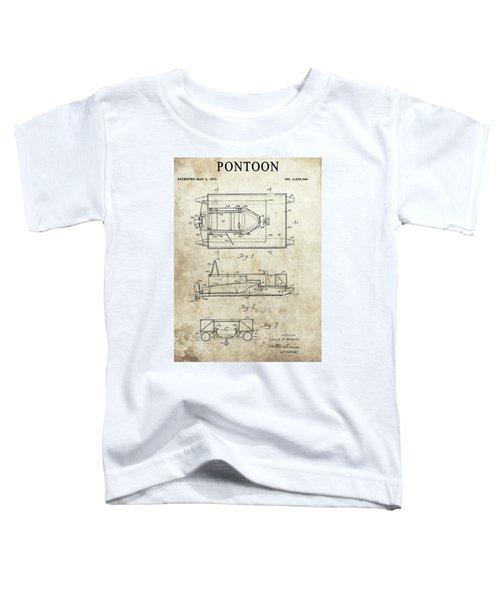 1972 Pontoon Patent Toddler T-Shirt