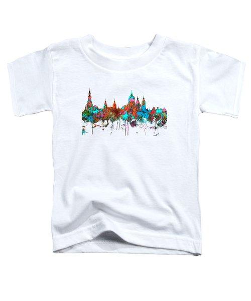 Amsterdam The Netherlands Skyline Toddler T-Shirt