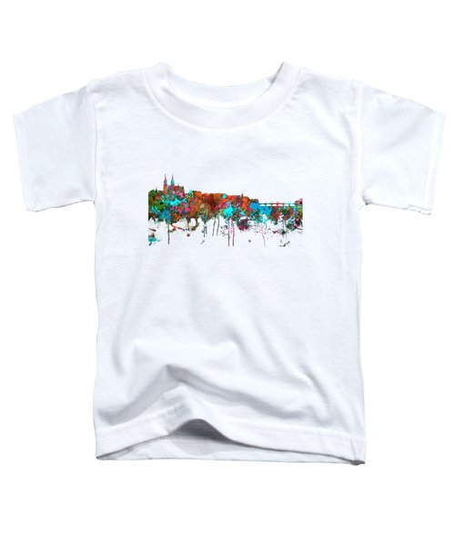 Basle Switzerland Skyline Toddler T-Shirt