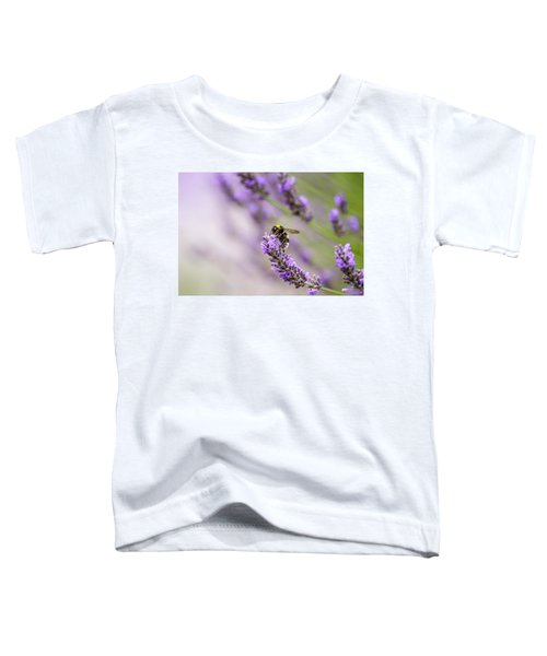Bumblebee And Lavender Toddler T-Shirt
