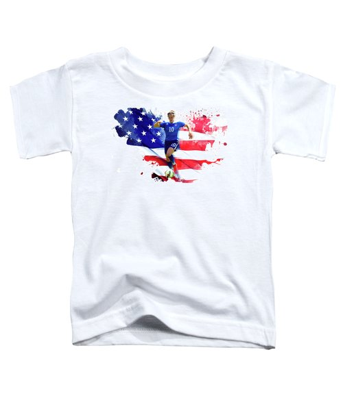 Carli Lloyd Toddler T-Shirt by Semih Yurdabak