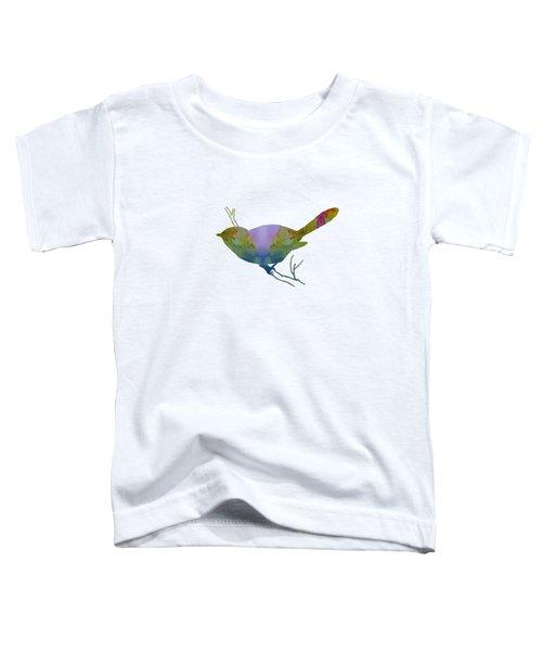 Chickadee Toddler T-Shirt by Mordax Furittus
