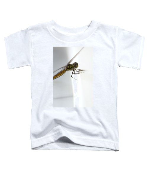 Close Up Shoot Of A Anisoptera Dragonfly Toddler T-Shirt
