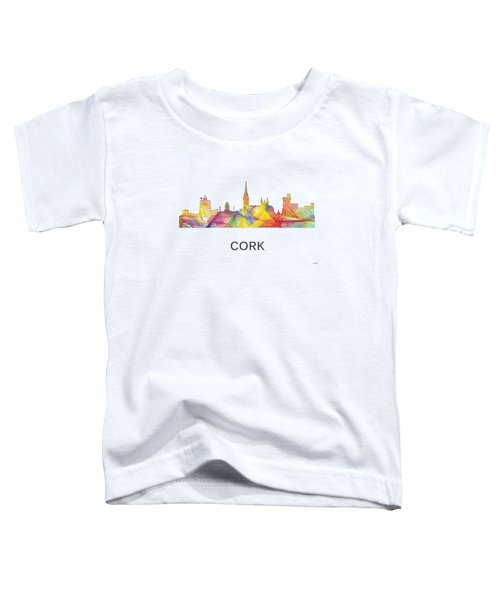 Cork Ireland Skyline Toddler T-Shirt