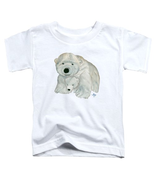 Cuddly Polar Bear Toddler T-Shirt