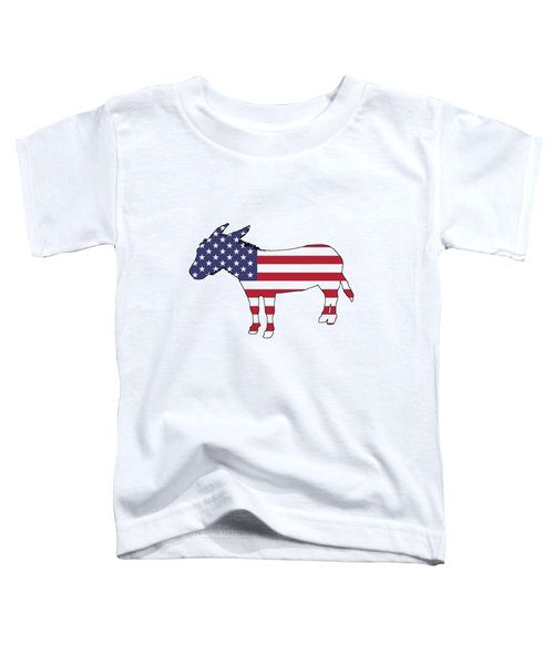 Donkey Toddler T-Shirt by Mordax Furittus
