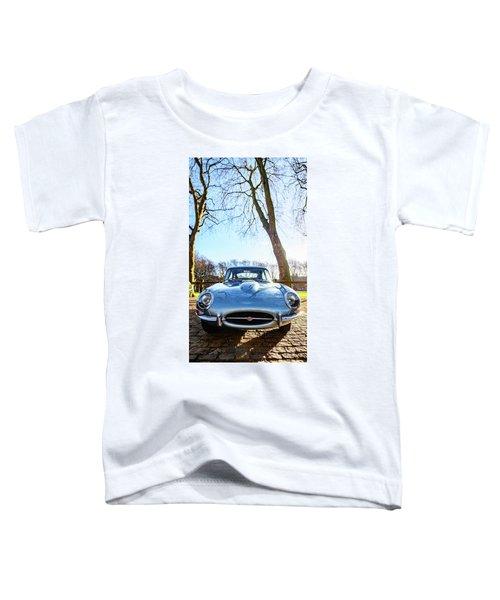E Type Jaguar Toddler T-Shirt