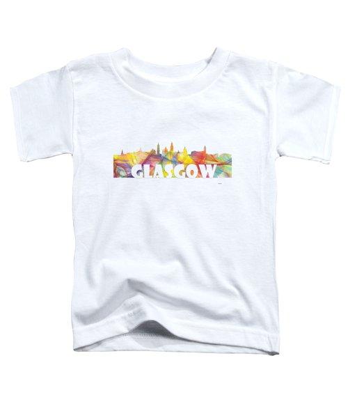 Glasgow Scotland Skyline Toddler T-Shirt