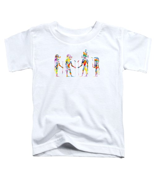 Gods And Goddess Of Ancient Egypt Toddler T-Shirt