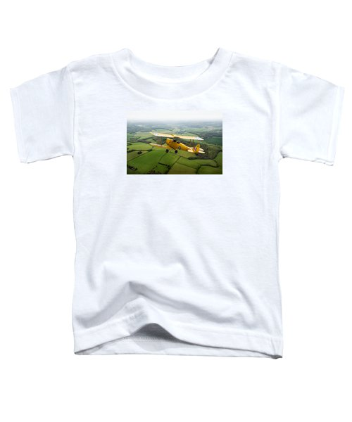 Toddler T-Shirt featuring the photograph Going Solo by Gary Eason