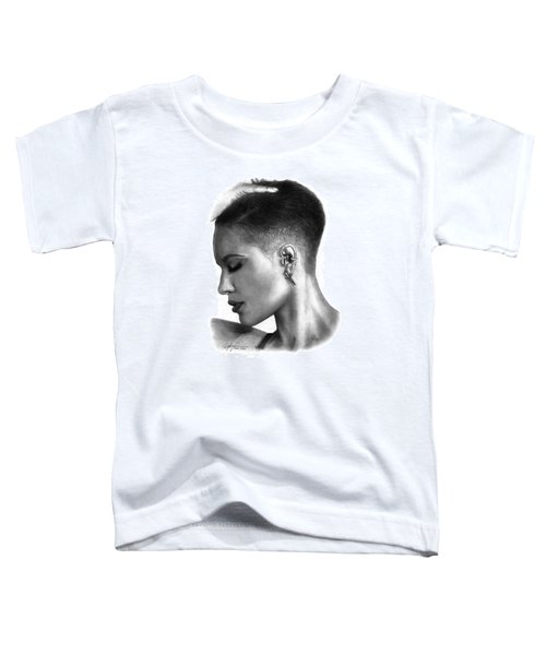 Halsey Drawing By Sofia Furniel Toddler T-Shirt