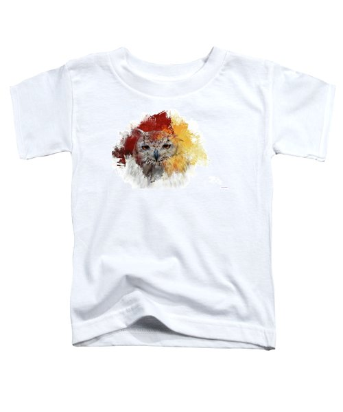 Indian Eagle-owl Toddler T-Shirt